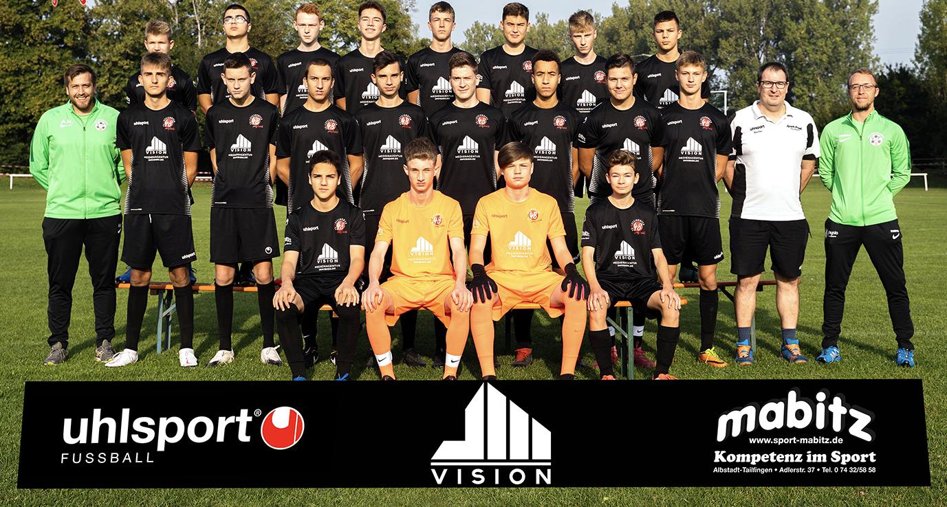A-Jugend-Mannschaftsbild